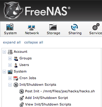 Install Apache In Freenas Jail Hostname